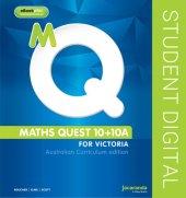 Maths Quest 10 for Victoria Australian Curriculum Edition & eBookPLUS