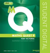 Maths Quest 9 for Victoria Australian Curriculum Edition & eBookPLUS