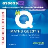 assessON Maths Quest 9 for the Australian Curriculum 2E