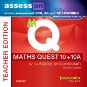 assessON Maths Quest 10 for the Australian Curriculum 2E