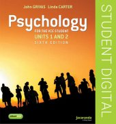 Psychology for the VCE Student 1&2 6E eBookPLUS (Online Purchase)