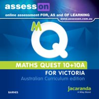 AssessON Maths Quest 10+10a for Victoria Australian Curriculum Edition (Online Purchase) Image