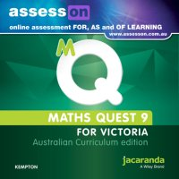 AssessON Maths Quest 9 for Victoria Australian Curriculum Edition (Online Purchase) Image
