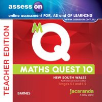 AssessON Maths Quest 10 Pathways 5.1/5.2 for New South Wales Australian Curriculum Teacher Edition (Online Purchase) Image