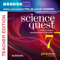 AssessON Science Quest 7 for Victoria Australian Curriculum Teacher Edition (Online Purchase) Image