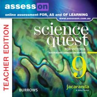 AssessON Science Quest 9 for Victoria Australian Curriculum Teacher Edition (Online Purchase) Image