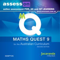 AssessON Maths Quest 9 for the Australian Curriculum 2E (Online Purchase) Image
