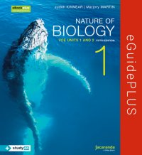 Nature of Biology 1 5E VCE Units 1 and 2 eGuidePLUS (Online Purchase) Image