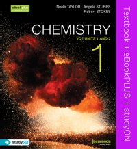 Chemistry 1 VCE Units 1 and 2 & eBookPLUS + StudyOn VCE Chemistry Units 1 and 2 Image