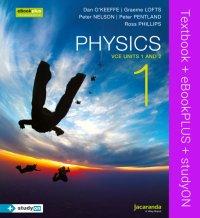 Physics 1 VCE Units 1 and 2 & eBookPLUS + StudyOn VCE Physics Units 1 and 2 Image