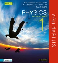 Physics 1 VCE Units 1 and 2 eGuidePLUS (Online Purchase) Image