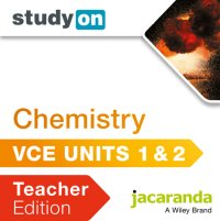 StudyOn VCE Chemistry Units 1 and 2 Teacher Edition (Online Purchase) Image