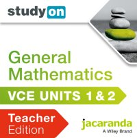 StudyOn VCE General Mathematics Units 1 and 2 Teacher Edition (Online Purchase) Image