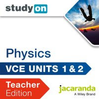 StudyOn VCE Physics Units 1 and 2 Teacher Edition (Online Purchase) Image