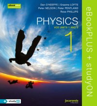 Physics 1 VCE Units 1 and 2 eBookPLUS (Online Purchase) + StudyOn VCE Physics Units 1 and 2 (Online Purchase) Image