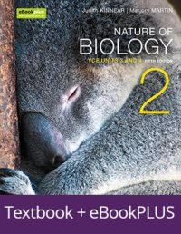 Nature of Biology 2 5E VCE Units 3 and 4 eBookPLUS & Print + StudyOn VCE Biology Units 3 and 4 3E Image