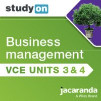 StudyOn VCE Business Management Units 3 and 4 3E (Online Purchase) Image