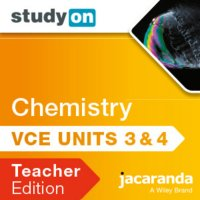 StudyOn VCE Chemistry Units 3 and 4 3E Teacher Edition (Online Purchase) Image