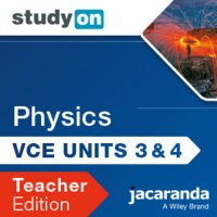 StudyOn VCE Physics Unit 3 and 4 3E Teacher Edition (Online Purchase) Image