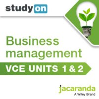 StudyOn VCE Business Management Units 1 and 2 (Online Purchase) Image