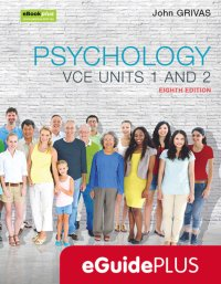 Psychology VCE Units 1 and 2 8E eGuidePLUS (Online Purchase) Image