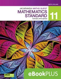 Jacaranda Maths Quest 11 Mathematics Standard 5E eBookPLUS (Online Purchase) Image