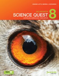 Jacaranda Science Quest 8 Australian Curriculum 3E LearnON & Print Image