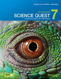 Jacaranda Science Quest 7 Australian Curriculum 3E LearnON & Print Image