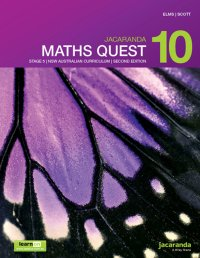 Jacaranda Maths Quest 10 Stage 5 NSW Australian Curriculum 2E LearnON & Print Image
