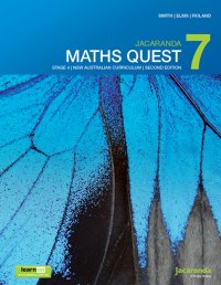 Jacaranda Maths Quest 7 Stage 4 NSW Australian Curriculum 2E LearnON & Print Image