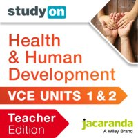StudyOn VCE Health and Human Development Units 1 and 2 Teacher Edition 2E (Online Purchase) Image