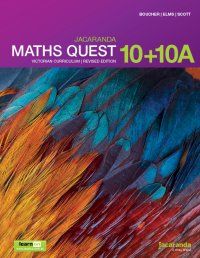 Jacaranda Maths Quest 10+10a Victorian Curriculum 1E (Revised) LearnON & Print Image