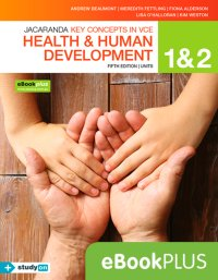Key Concepts in VCE Health and Human Development Units 1 & 2 5E eBookPLUS (OL) + StudyOn VCE Health and Human Development Units 1 & 2 (OL) Image