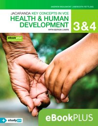 Key Concepts in VCE Health and Human Development Units 3 & 4 5E eBookPLUS (OL) + StudyOn VCE Health and Human Development Units 3 & 4 (OL) Image