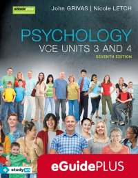 Psychology VCE U3&4 7E eGuidePLUS (Online Purchase) Image