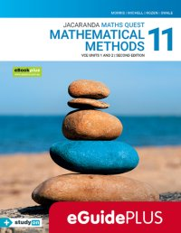 Jacaranda Maths Quest 11 Mathematical Methods VCE U1&2 2E eGuidePLUS (Online Purchase) Image