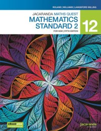 Jacaranda Maths Quest 12 Mathematics Standard 2 5E for NSW eBookPLUS & Print Image