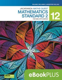 Jacaranda Maths Quest 12 Mathematics Standard 2 5E for NSW eBookPLUS (Online Purchase) Image