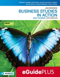 Jacaranda Business Studies in Action HSC Course 6E eGuidePLUS (Online Purchase) Image