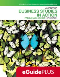 Jacaranda Business Studies in Action Preliminary Course 5E eGuidePLUS (Online Purchase) Image