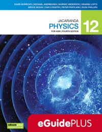 Jacaranda Physics 12 4E for NSW eGuidePLUS (Online Purchase) Image