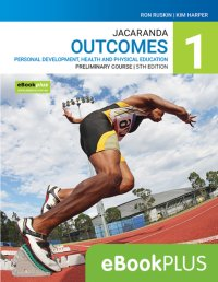 Jacaranda Outcomes 1 Personal Development, Health and Physical Education Preliminary Course 5E eBookPLUS (O) Image