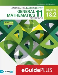 Jacaranda Maths Quest 11 General Mathematics U1&2 for Queensland eGuidePLUS (Online Purchase) Image