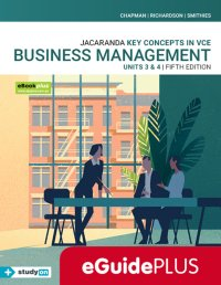 Key Concepts in VCE Business Management Units 3&4 5E Eguide (Online Purchase) Image
