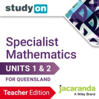StudyOn Specialist Mathematics U1&2 for Queensland Teacher Edition (Online Purchase) Image