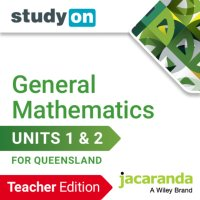 StudyOn General Mathematics U1&2 for Queensland Teacher Edition (Online Purchase) Image