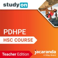 StudyOn HSC Personal Development, Health and Physical Education 2E Teacher Edition (Codes Emailed) Image