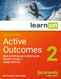Jacaranda Active Outcomes 2 3E NSW Ac Personal Development, Health and Physical Education Stage 5 Lo Pm (Online Purchase) Image