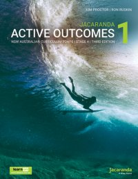 Jacaranda Active Outcomes 1 3E NSW Ac Personal Development, Health and Physical Education Stage 4 LearnON & Print Image