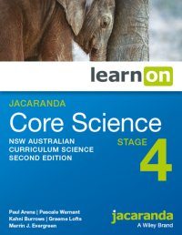 Jacaranda Core Science Stage 4 NSW Australian Curriculum 2E LearnON (Online Purchase) Image